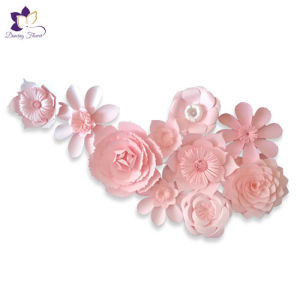Paper Flower Wall Backdrop Decoration