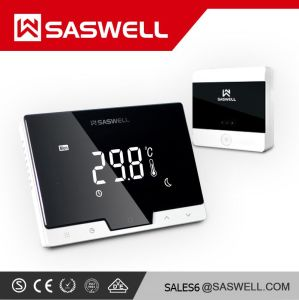 Saswell Smart Phone Ios iPhone APP Control Wireless WiFi Rated Enabled  Thermostat