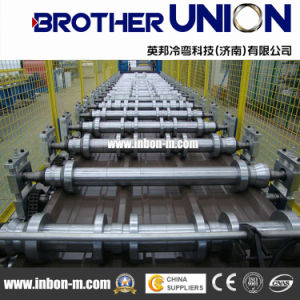CNC Aluminium Galvanized Roofing Sheets Roll Forming Machine pictures & photos