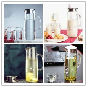 Eco-Friendly Glass Water Pot, Glass Water Kettle, Glass Water Bottle Water Jug Pitcher pictures & photos
