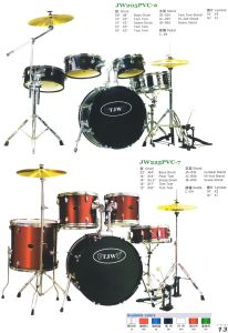 5PCS PVC Drum Sets, Drum Kit (JW205PVC-2, JW22 5PVC-7)