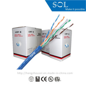 23AWG Digital Communication 4P LAN UTP CAT6 Network Cable