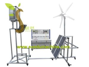 Renewable Training Equipment Solar and Wind Trainer Didactic Equipment