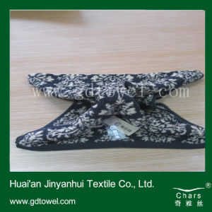 Cotton Small Yarn Dyed Face Towel Square Shape Towel Factory Price (Y492)