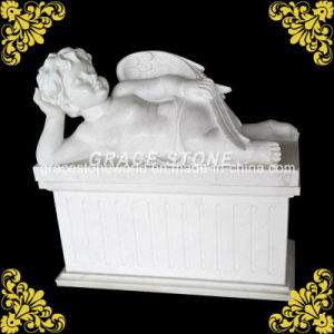 Pure White Marble Angel Statue pictures & photos