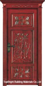 China Single Composite Wood Door Interior Swing Door for Bedroom pictures & photos