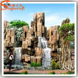 China Factory Price Decorative Artificial Plastic Water Fountain pictures & photos