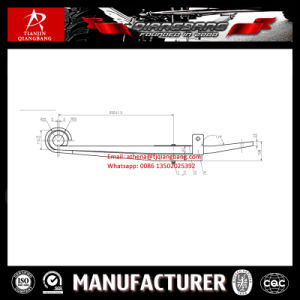 High Quality BPW Semi Trailer Leaf Spring Z-Type pictures & photos