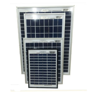 Poly Solar/High Efficiencyl Solar Panel/5W 10W 15W 20W 30W Solar Panel pictures & photos