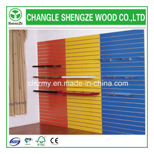 High Quality Melamine Slotted MDF Boards