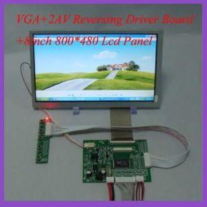 8inch TFT LCD Screen (Driver Board for reference) 800X480 Display pictures & photos