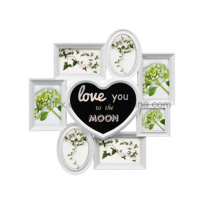 Plastic Gift Home Decoration Collage LED Light Photo Frame