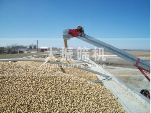 Low-Profile Conveyor with Mover for Grain Handling pictures & photos
