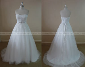 Sweetheart Ivory Lace Wedding Dress