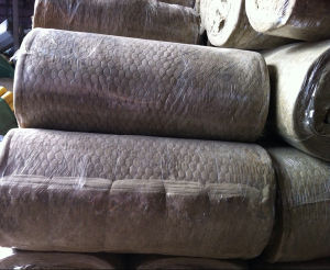 Rockwool Blanket with Hot Galvanized Wire Mesh pictures & photos