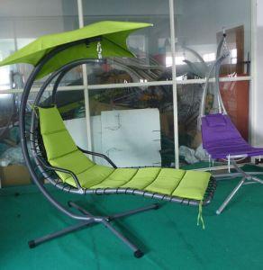 Sensational Leisure Outdoor Canopy Household Reclining Iron Garden Villa Swing Sun Bed Cy 330 Inzonedesignstudio Interior Chair Design Inzonedesignstudiocom
