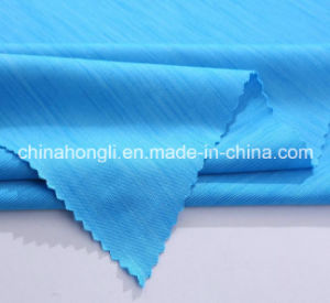 Fashion Space-Dyed Polyester Lycra Yoga Knitted Fabric for Women Garment pictures & photos