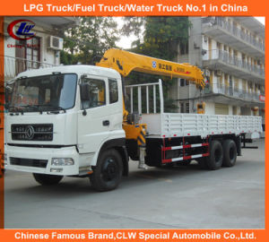 8tons 12tons 16tons Heavy Duty Dongfeng 6*4 Truck Mounted Crane pictures & photos