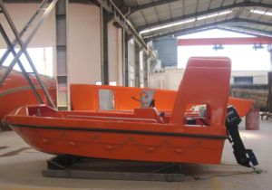 6 Persons FRP Rescue Boat Used Open Type Lifeboat pictures & photos