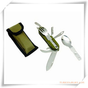 Outdoor Multi-Functional Stainless Steel Combined Tablewear for Promotion pictures & photos