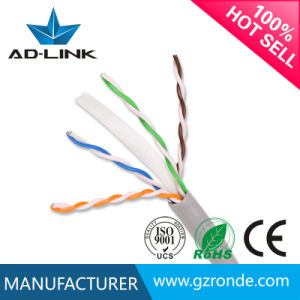 Fire Resistant Ofc/CCA/Cu/Bc CAT6 Cable