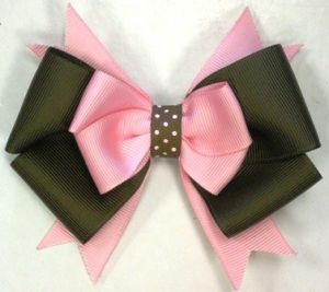 Grosgrain Ribbon Hair Bows for Kids