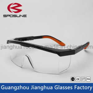 Hot Selling Clear Color Lab Safety Glasses Ce En166 Funny Painting Printing Safety Goggles Dustproof Construction Safety Eyewear pictures & photos