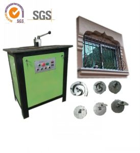 Oy-Wh14 Type Ornamental Wrought Iron Manufacturing Machine for Doors and Fence/ Electric Scroll Bender Machine