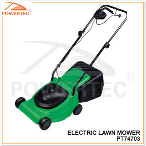 Powertec 320mm 850W Electric Lawn Mower (PT74703) pictures & photos