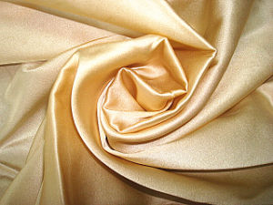 Solid Silk Satin Stretch Fabric pictures & photos