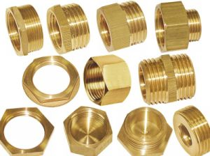 Brass Fittings (pipe fitting, nut, full bore fitting) /Compression Fitting (a. 0326)