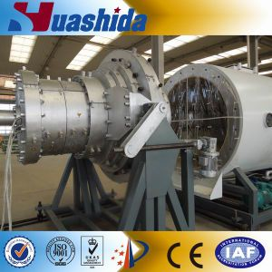 HDPE PU Thermal Insulating Jacket Pipe Production Line pictures & photos