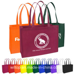 Printed PP Non-Woven Shopping Tote Bags (PM026) pictures & photos