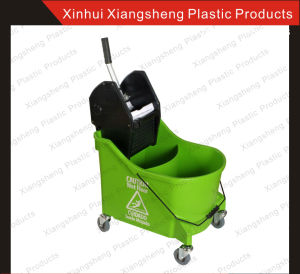 Factory Direct Sale Mop Wringer Double Buckets for Hotel and Restaurant