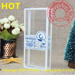 China Supply Clear Folding Plastic Box for Wholesale
