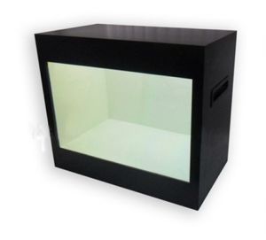 "Transparent LCD Display with Touch Screen 22"" pictures & photos"