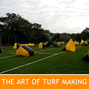 Artificial Grass Paintball Turf