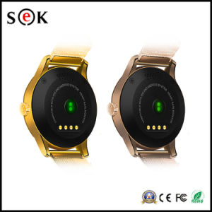 1.22 Inch IPS Round Screen Smart Watch with Heart Rate Monitor pictures & photos