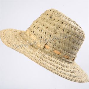 Womens wide brim sun hat striped bucket hats for travel crimping