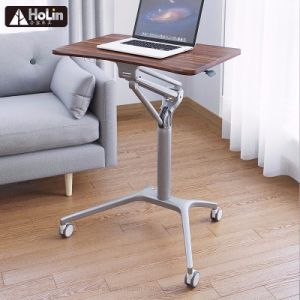Sit Stand Mobile Laptop Computer Desk