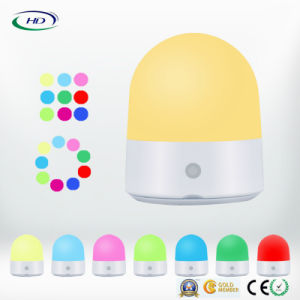 China Led Touch Multi Color Night Light