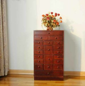 Solid Wood Drawers Wooden Cabinet (M-X1040) pictures & photos