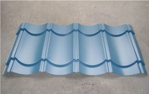 Sea Blue Corrugated Roofing Sheet for Prefab House pictures & photos