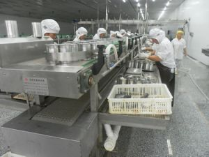 Canned in Oil Sardine/Tuna Fish Food Production Line