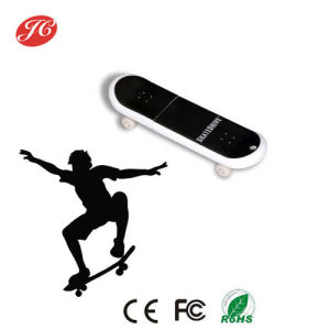 Skateboard Shape USB Flash Disk with Full Color Printing