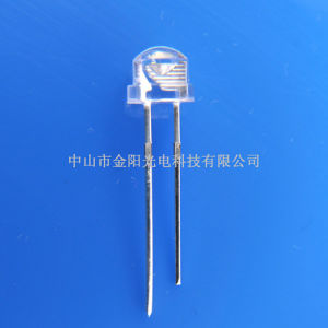 Green Color Pack of 50 5mm Strawhat Lamp LED Water clear