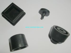 Anti-Vibration Recessed Silicone, Natural Rubber Bumper
