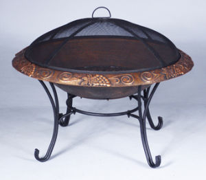 Steel Firepit and Cast Iron Firepit, Fire Pit