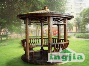 Outdoor Patio Garden Solid Wood Leisure Classical Tent (SC-D094) & China Outdoor Patio Garden Solid Wood Leisure Classical Tent (SC ...