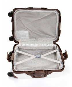"Fashion Design Pure PC Luggage Set PC Frame Trolley Ppc03-20""24""28"" PC Trolley Case (PPC03-20/24/28) pictures & photos"